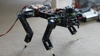 getlinkyoutube.com-Quadruped robot (Stag Mk2) - autonomous navigation and trotting