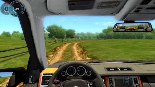 getlinkyoutube.com-#015 Let's Play City Car Driving - Range_Rover_2008 [Deutsch] [Full-HD] MOD