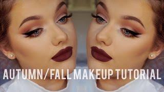 getlinkyoutube.com-Autumn/Fall Make up Tutorial - Collab w/ Glitteralittle!   Rachel Leary