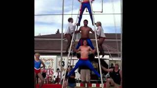 getlinkyoutube.com-Circus, Whips and Roman Ladders