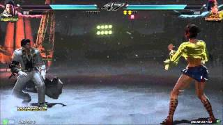getlinkyoutube.com-Tekken7 claudio(cltam) vs josie(secret) korea online battle