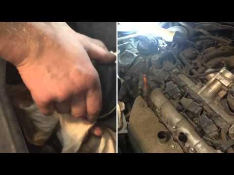 Замена масляного фильтра в Volkswagen GOLF V