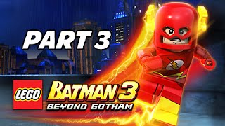 getlinkyoutube.com-Lego Batman 3 Beyond Gotham Walkthrough Part 3 - The Flash & Cyborg (Let's Play Commentary)