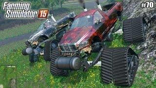 getlinkyoutube.com-Farming Simulator 15 моды: Гусеничный Monster Truck camo (70 серия) (1080р)