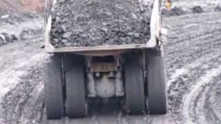 getlinkyoutube.com-Cat Trucks on a slippery slope