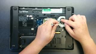 getlinkyoutube.com-Cleaning the fan on HP ProBook 4530s laptop computer