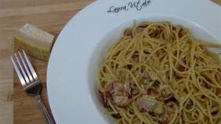 getlinkyoutube.com-How to Make Carbonara - Recipe by Laura Vitale - Laura in the Kitchen Episode 110
