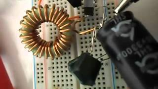 getlinkyoutube.com-Amplificador classe D super simples. (nao possuo mais o circuito)