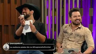 Fábio Porchat e Paulo Vieira desafiam Fernando e Sorocaba na estreia do jogo Pesquisas Apontam