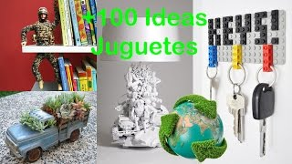 getlinkyoutube.com-Reciclaje de Juguetes +100 Ideas / Recycling Toys +100 Ideas