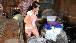 getlinkyoutube.com-Making rice paper