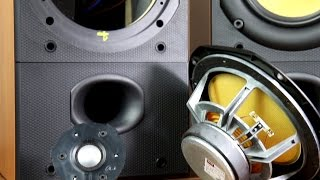 getlinkyoutube.com-Bowers and Wilkins DM602 S2 look inside the speakers