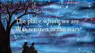 written in the stars (lyrics)- westlife