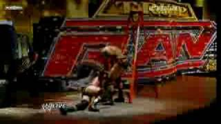 getlinkyoutube.com-WWE Raw 6/22/09 - HQ Triple H vs. Randy Orton WWE Championship Match Last Man Standing Part 3/3