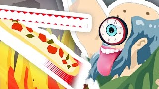 getlinkyoutube.com-GRANDAD'S HAPPY WHEELS PIZZA DELIVERY!!!