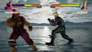Tekken 7 Heera Malik(Akuma) vs Jamshaid(paul) ManiaX FIghters cup s2