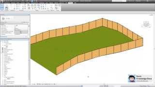 getlinkyoutube.com-Revit - Adaptive Component Railing and Fence