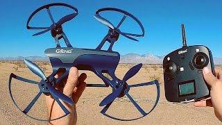 getlinkyoutube.com-GTENG T905C Ninja Altitude Hold Camera Drone Flight Test Review