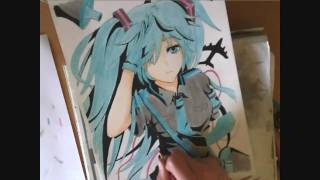 getlinkyoutube.com-Drawing Hatsune Miku