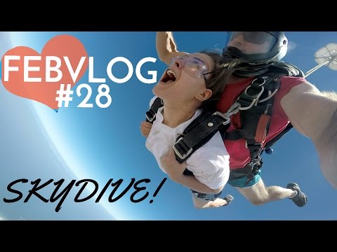 SKYDIVING In South Africa!  FebVlog 28