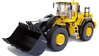 getlinkyoutube.com-LEGO Technic Motorized Volvo L250G Wheel Loader with instructions