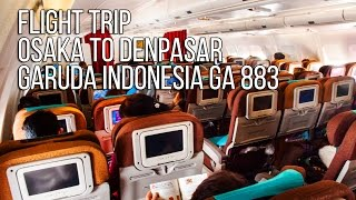 getlinkyoutube.com-Flight Trip Osaka to Denpasar | Garuda Indonesia
