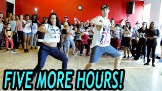 getlinkyoutube.com-FIVE MORE HOURS - Chris Brown & Deorro Dance | @MattSteffanina Choreography (Beg/Int Hip Hop)