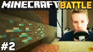 getlinkyoutube.com-Let's BATTLE Minecraft #2/3 - DIAMANTEN!!