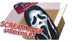 getlinkyoutube.com-SCREAM MASK FUNWORLD FANTASTIC FACES 1994 (NEW ONE) UNBOXING