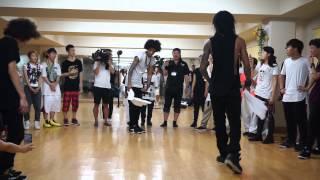 getlinkyoutube.com-LES TWINS | August 2, 2015. Workshop in Kyoto. Freestyle 2