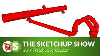getlinkyoutube.com-Pipe Layout with 3Skeng for Sketchup | SketchUp Show #69 (Tutorial)