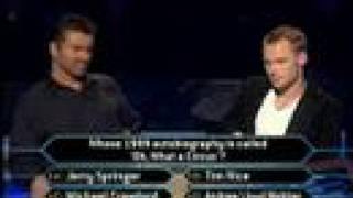 "getlinkyoutube.com-George Michael on ""Who Wants To Be A Millionaire"" Part 2"