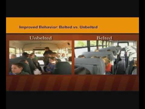 SafeGuard Answers: &quot;Why Seat Belts on School Buses?&quot;
