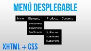 getlinkyoutube.com-Como hacer un menu desplegable con HTML y CSS