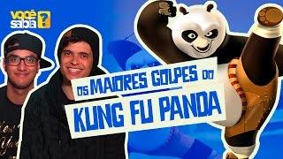 Os MAIORES GOLPES de Kung Fu Panda - Você Sabia no Telecine