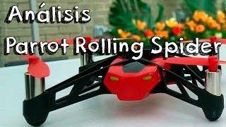 getlinkyoutube.com-ANALISIS PARROT ROLLING SPIDER EN ESPAÑOL: ¿Review del mejor minidrone con camara del momento?