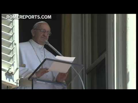 Pope during Regina Coeli  pray for Christians under persecution
