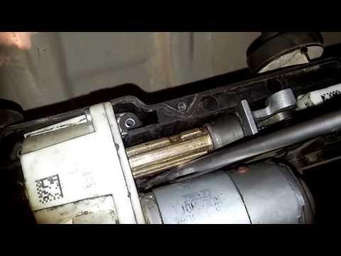 Ремонт заклинившего стояночного томоза (Ручника) Range Rover Sport 2008 Часть 6