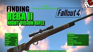 getlinkyoutube.com-Fallout 4 - Finding REBA 2 Rifle (Night Vision Scope Rifle Location) Best Weapons in Fallout 4