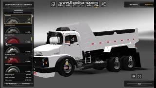 getlinkyoutube.com-Euro Truck Simulator 2 -- Mod Mercedes-Benz 1938 Caçamba Arqueado