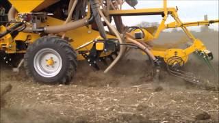 Claydon 3m Fertiliser Drill Video
