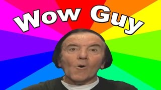 Who is the wow guy? The history and origin of the eddy wally wow MLG meme
