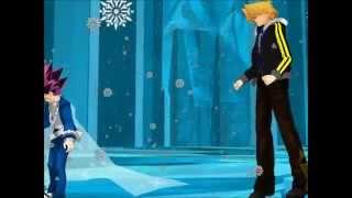 getlinkyoutube.com-{MMD Yu-Gi-Oh} Frozen Collection