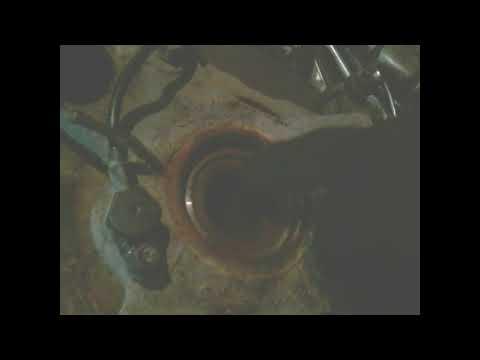Замена опорного игольчатого подшипника переднего шруса тагаз Road partner +кат№№