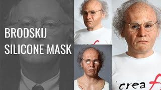 getlinkyoutube.com-Silicone Mask of the poet Brodskij - Maschera in silicone del poeta Brodkij