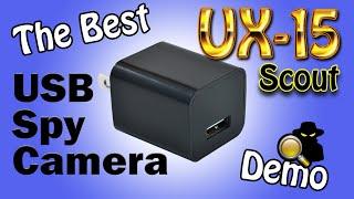 getlinkyoutube.com-The Best USB Spy Camera In The World: UX-6 ScoutOut