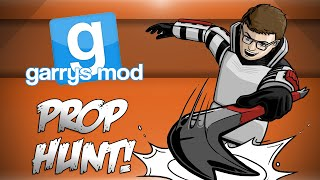 getlinkyoutube.com-GMod Prop Hunt! - HAYYYY!, Rooftop Warfare, Glitchy Old Men! (Garrys Mod Funny Moments)
