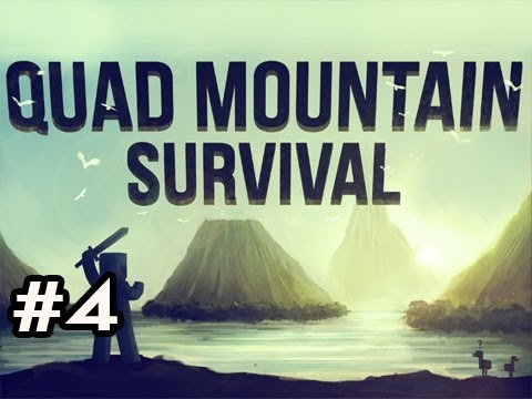 Minecraft: Quad Mountain Survival w/Nova Ep.4 - WHOAAAAAAA