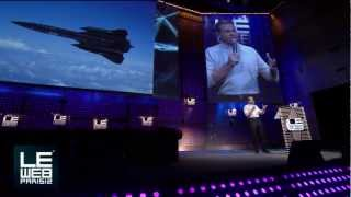 getlinkyoutube.com-Brian Shul Shares his Inspiring Story of Flying an SR-71 Blackbird - LeWeb Paris 2012