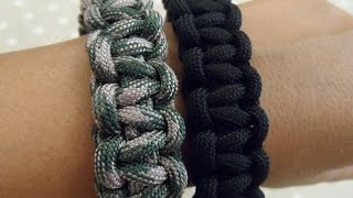 getlinkyoutube.com-Tutorial: Bracciale paracord